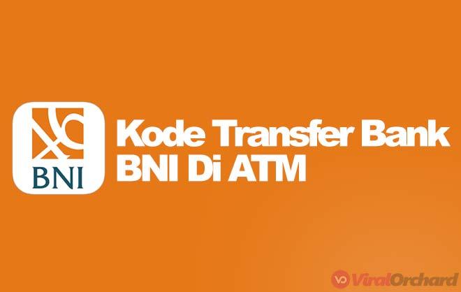 Kode Transfer Bank BNI