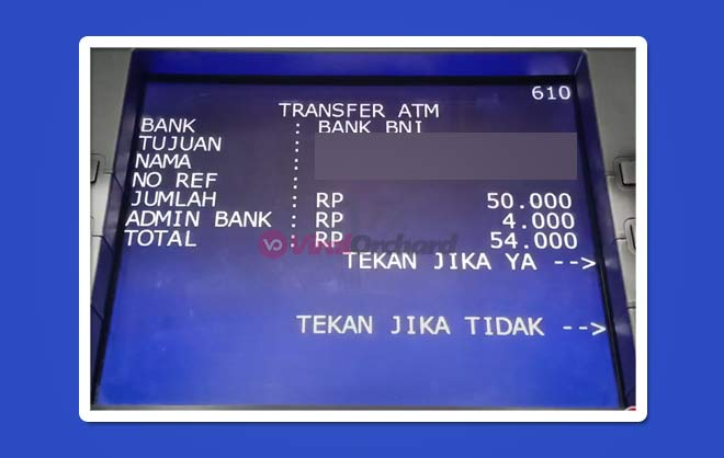 Cara Bayar Traveloka Lewat ATM BRI
