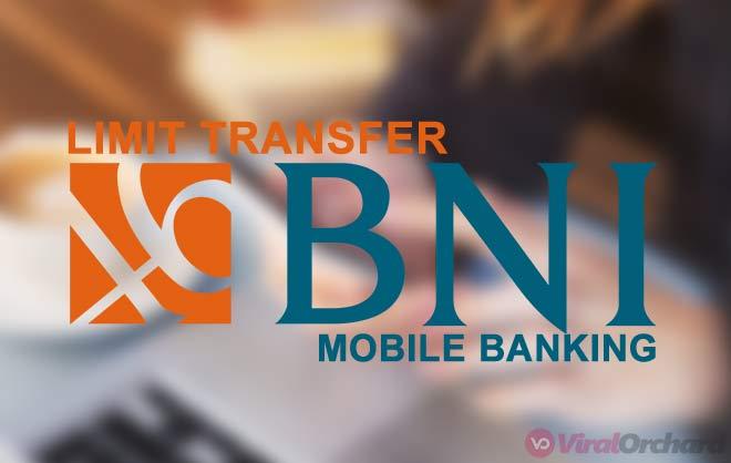 Limit Transfer Mobile Banking BNI