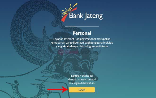 Login Internet Banking Bank Jateng