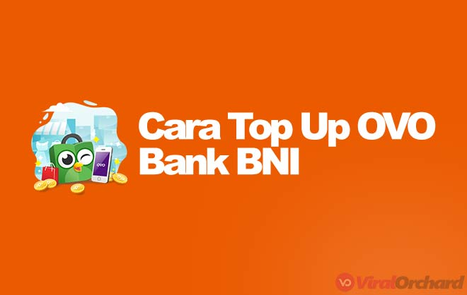 Cara Top Up OVO BNI