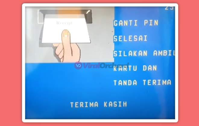 Ganti PIN di ATM BNI