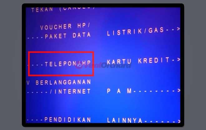 Cara Bayar Internet Indihome Lewat ATM Mandiri