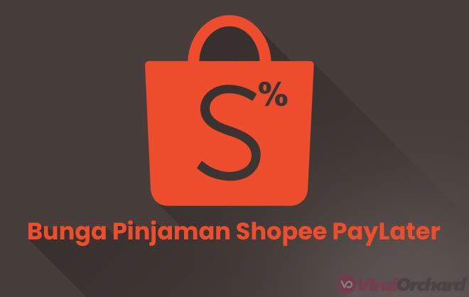 Bunga Pinjaman Shopee PayLater