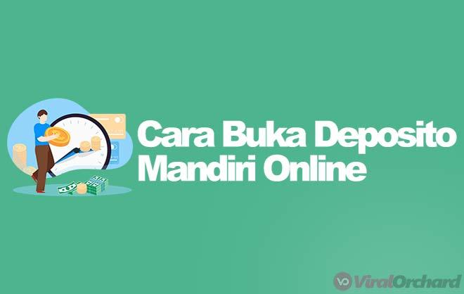 Cara Deposito Mandiri Online