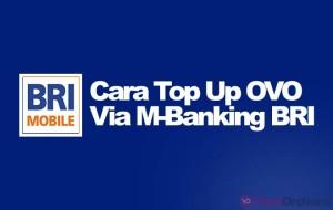 Cara Mengisi OVO Lewat M-Banking BRI