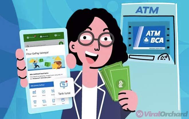 Cara Tarik Tunai Gopay di ATM BCA Tanpa Kartu