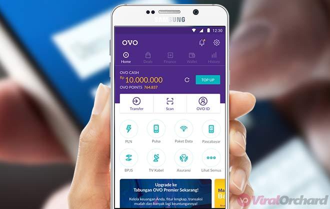 Cara Top Up OVO Via BCA Mobile