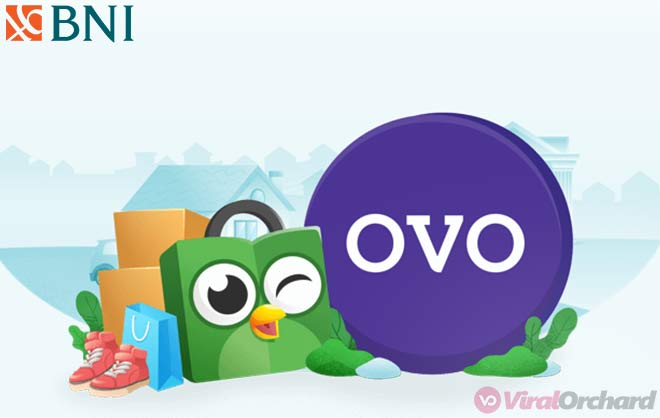 Cara Top Up OVO Via M-Banking BNI