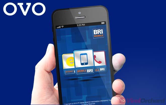 Cara Top Up OVO Via M-Banking BRI