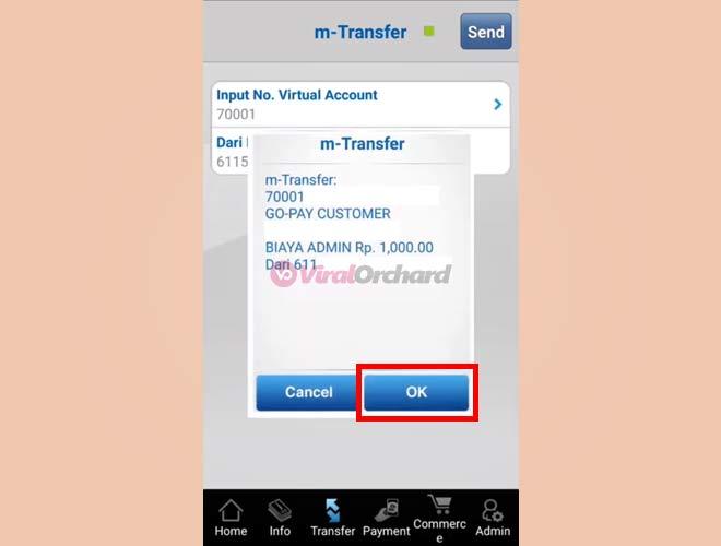 Cara Transfer BCA Ke GoPay