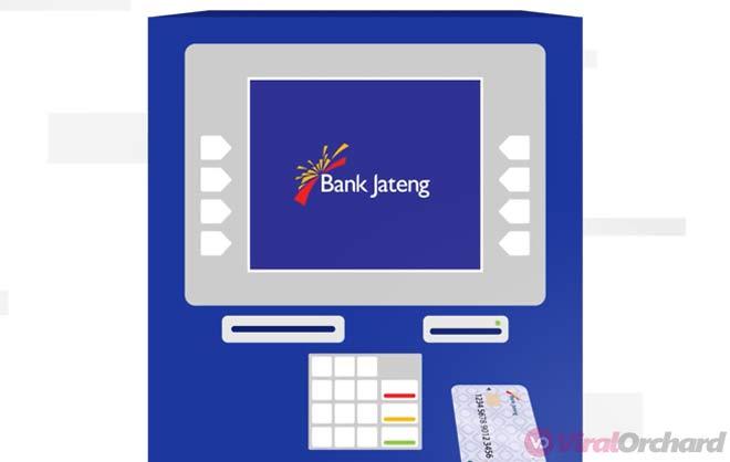 Masukan Kartu ATM Bank Jateng