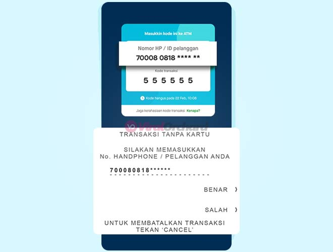 Tarik Uang GoPay di ATM BCA
