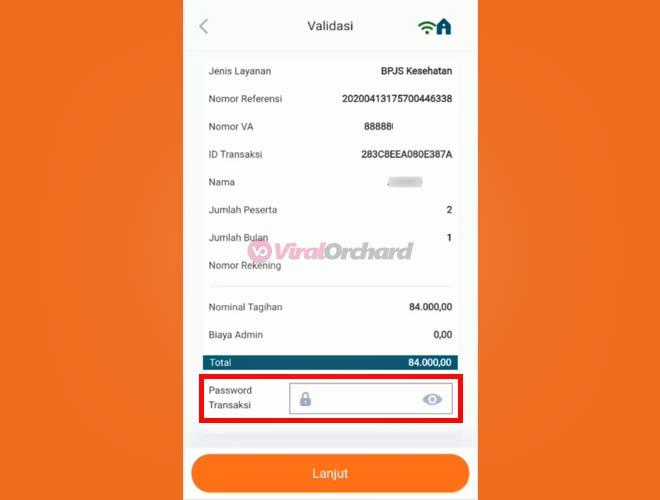Password Transaksi BPJS