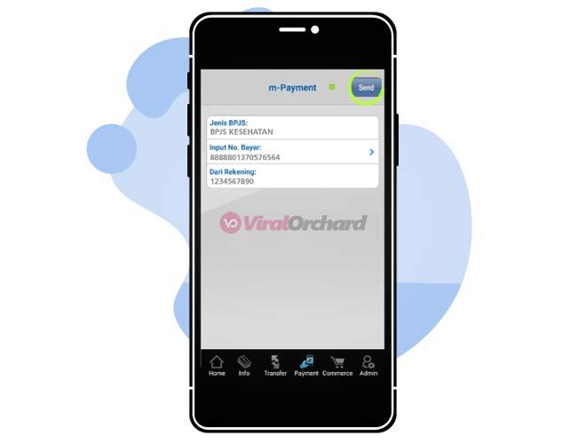 Pembayaran BPJS Via BCA Mobile