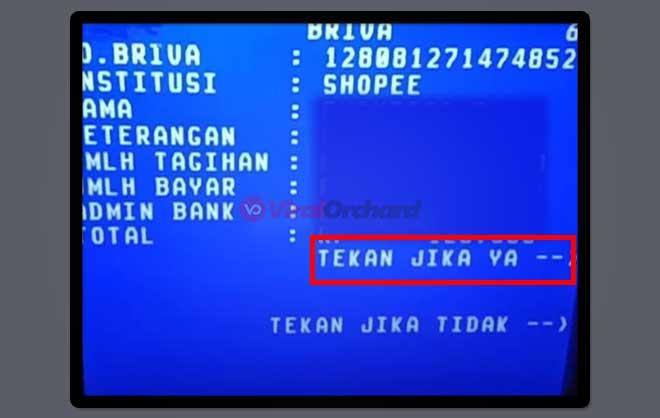 Shopee ATM BRI
