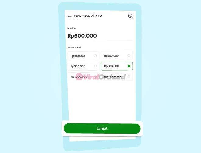 Tarik Tunai Saldo GoPay di ATM BCA