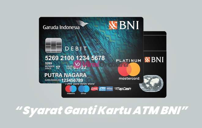 Biaya dan Syarat Ganti Kartu ATM BNI