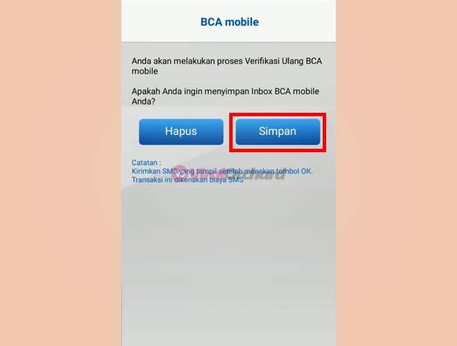 Cara Buat Kode Akses m-BCA Yang Lupa