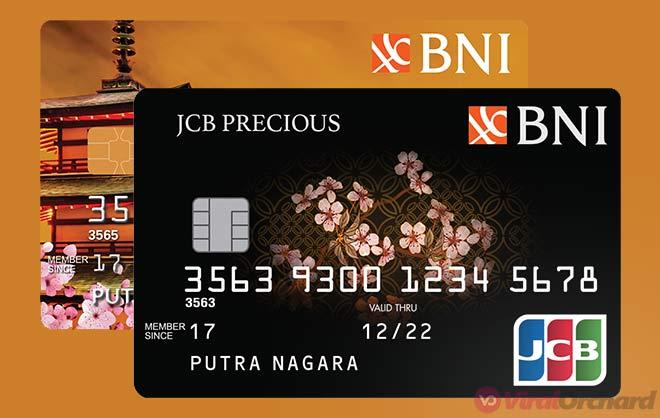 Gambar Kartu Kredit BNI