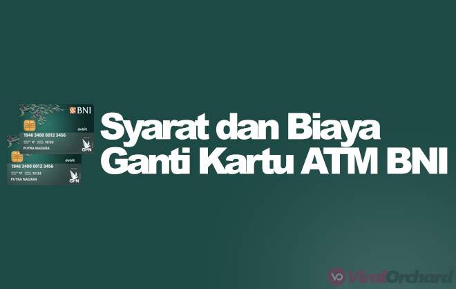 Ganti Kartu ATM BNI