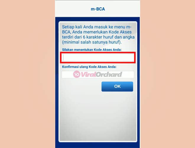 Kode Akses BCA