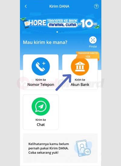 Transfer Dana Ke Bank