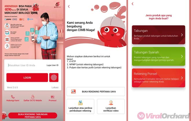 Cara Buka Rekening Bank CIMB Niaga Online