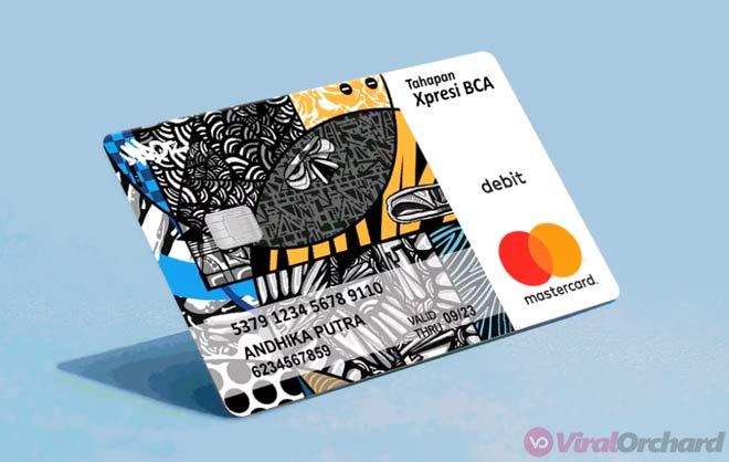 Kartu ATM BCA Xpresi