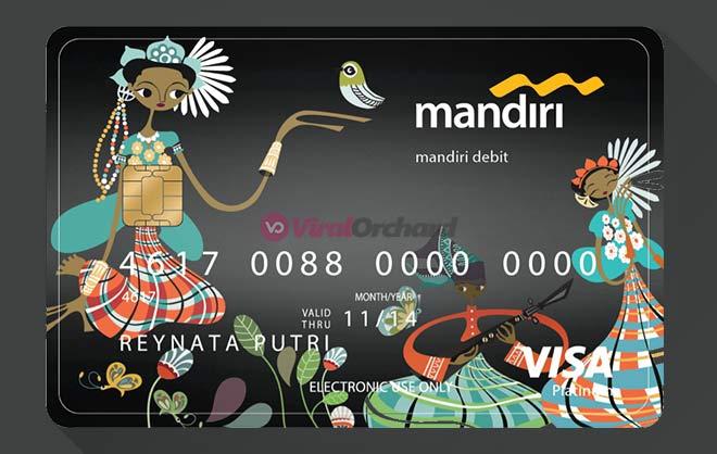 Kartu ATM Mandiri Platinum