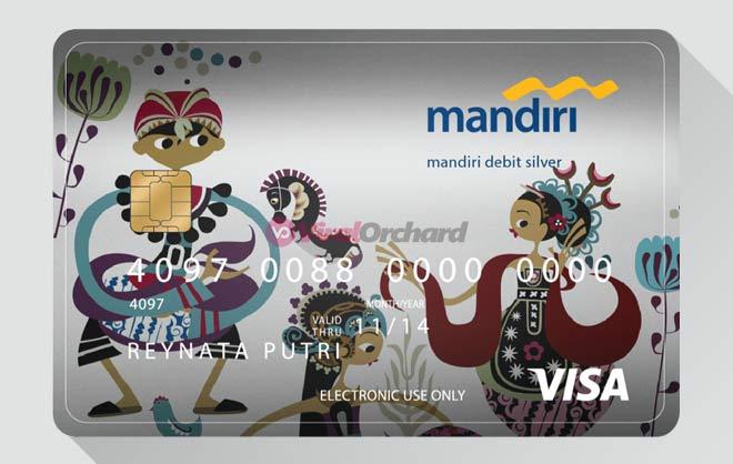 Kartu Debit Mandiri Silver Visa
