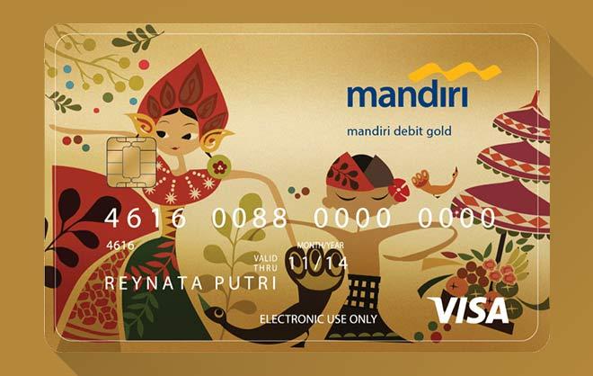 Maksimal Tarik Tunai ATM Mandiri Gold