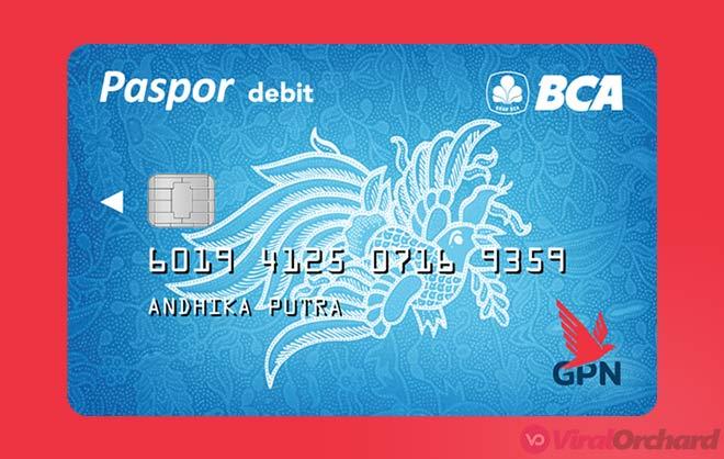 Paspor BCA GPN Blue