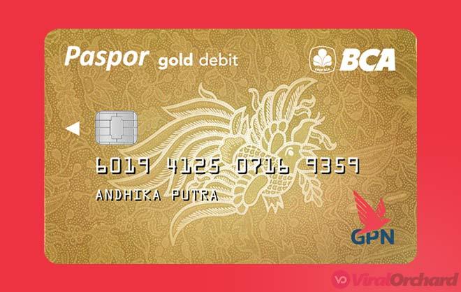 Paspor BCA GPN Gold