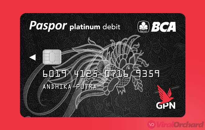 Paspor BCA GPN Platinum