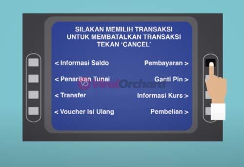 Cara Bayar FIF di ATM BCA