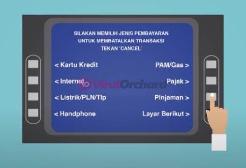 Cara Bayar Pinjaman di ATM BCA
