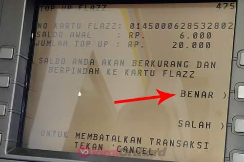Cara Mengisi Saldo Flazz di ATM BCA