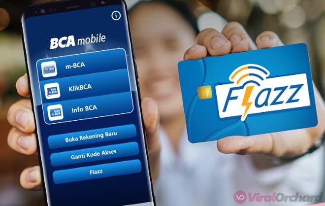 Cara Top Up Flazz Lewat M-Banking BCA