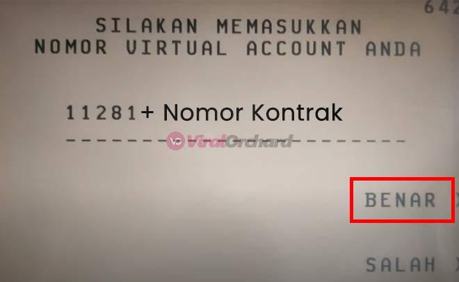 Pembayaran Home Credit via ATM BCA