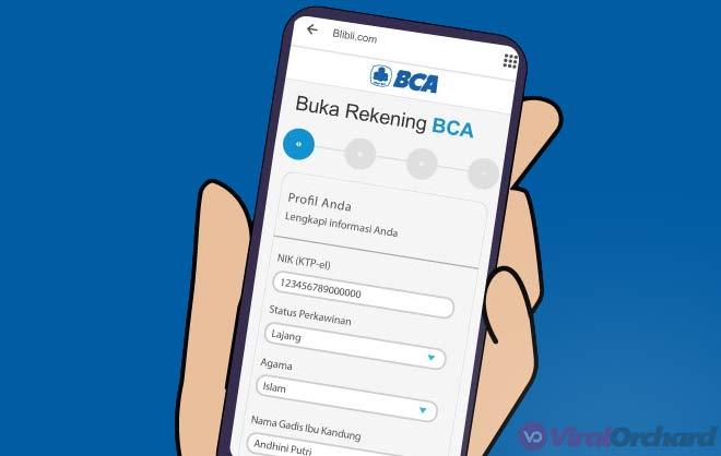Cara Bikin Rekening BCA Online di BliBli