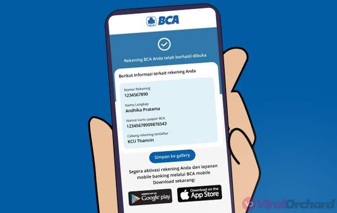 Cara Buka Rekening BCA di BliBli