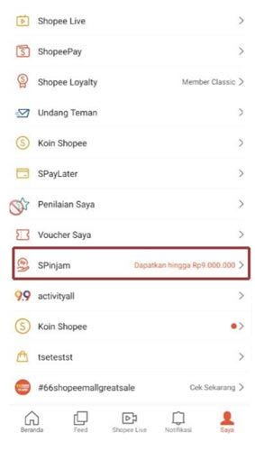 Cara Membayar Shopee Pinjam
